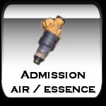 Admission air / essence