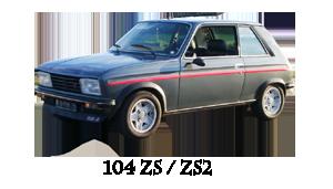 Peugeot 104 ZS / ZS 2