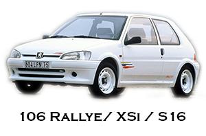 Peugeot 106 Xsi / Rallye / S16
