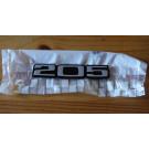 Monogramme 205 hayon 205 GTI / Rallye