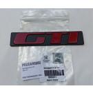 """Monogramme """"GTI"""" hayon 205 GTI"""