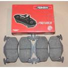 Plaquettes arrières FERODO 205 GTI 1.9 - 309 GTI / GTI 16