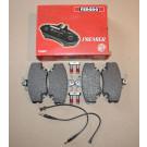 Plaquettes avant FERODO 205 GTI 1.9 - 309 GTI / GTI 16
