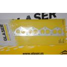 Joint de collecteur d'échappement GLASER 309 GTI16