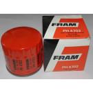 Filtre à huile FRAM Visa Chrono / GT / Trophée / 1000 pistes - 104 ZS / ZS 2 - Samba Rallye