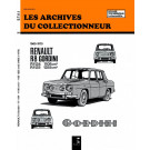 Les Archives du Collectionneur - Simca 8 Gordini 1108 - 1255 (1965 - 1970) R1134 - R1135