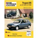 RTA - Peugeot 205 sauf 1.6 et 1.9 essence (1983 - 1998)