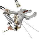 Commande d'accélérateur double câbles MANGOLETSI pour WEBER DCOE