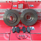 Pack BREMBO MAX disques + plaquettes pour Peugeot 205 GTI 1.9 - 309 GTI / GTI16