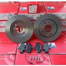 Pack BREMBO disques + plaquettes pour Peugeot 205 GTI 1.9 - 309 GTI / GTI16