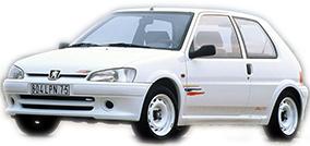 Catalogue Peugeot 106 Rallye / XSi / S16