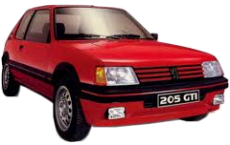Catalogue Peugeot 205 GTI 1.6