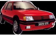 Catalogue Peugeot 205 GTI 1.6