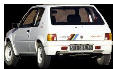 Catalogue Peugeot 205 Rallye